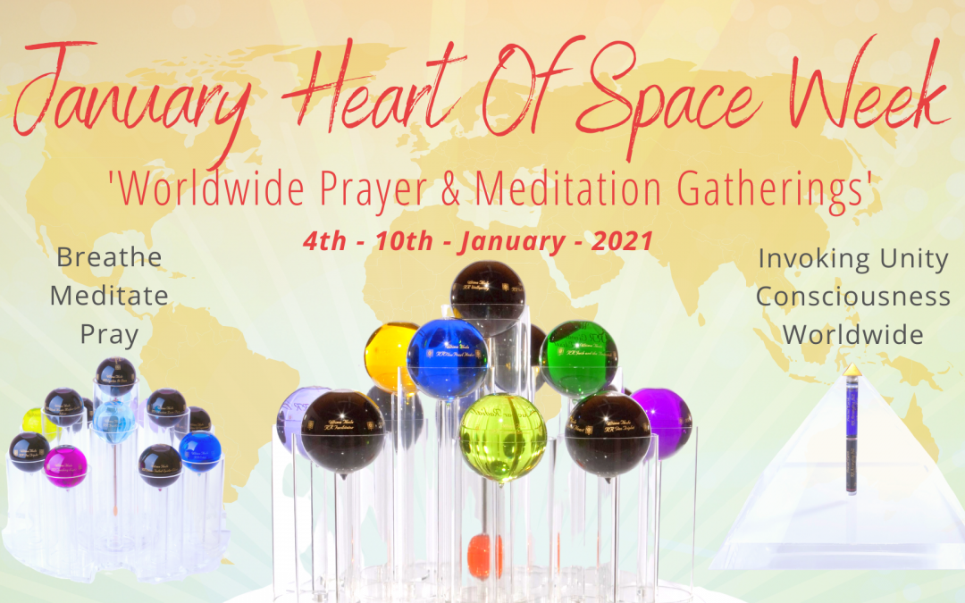 January 2021 Heart Of Space Week Registration Links